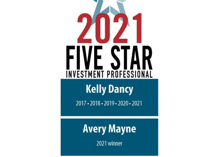 Five Star Professional's 2021 Five Star Award